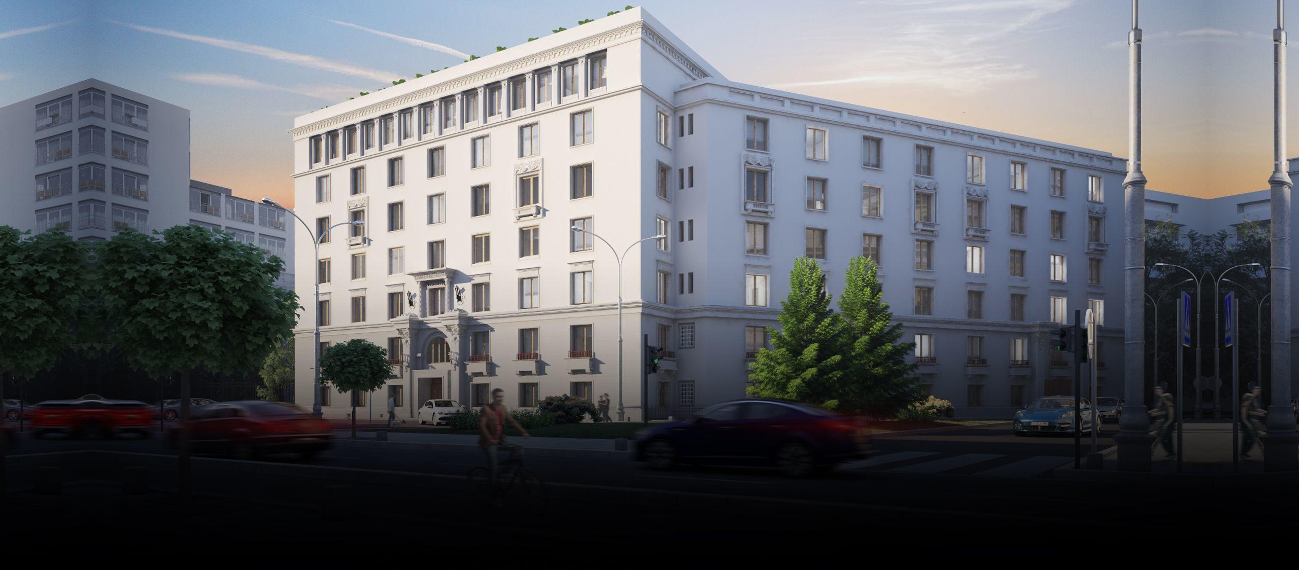 Global Vision va asigura serviciile de property management pentru birourile Hagag de pe Calea Victoriei