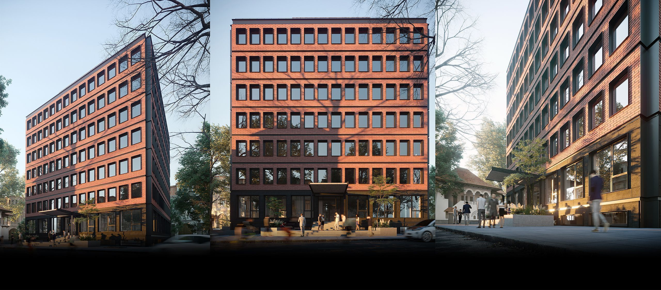 H Tudor Arghezi 21 - Office Building