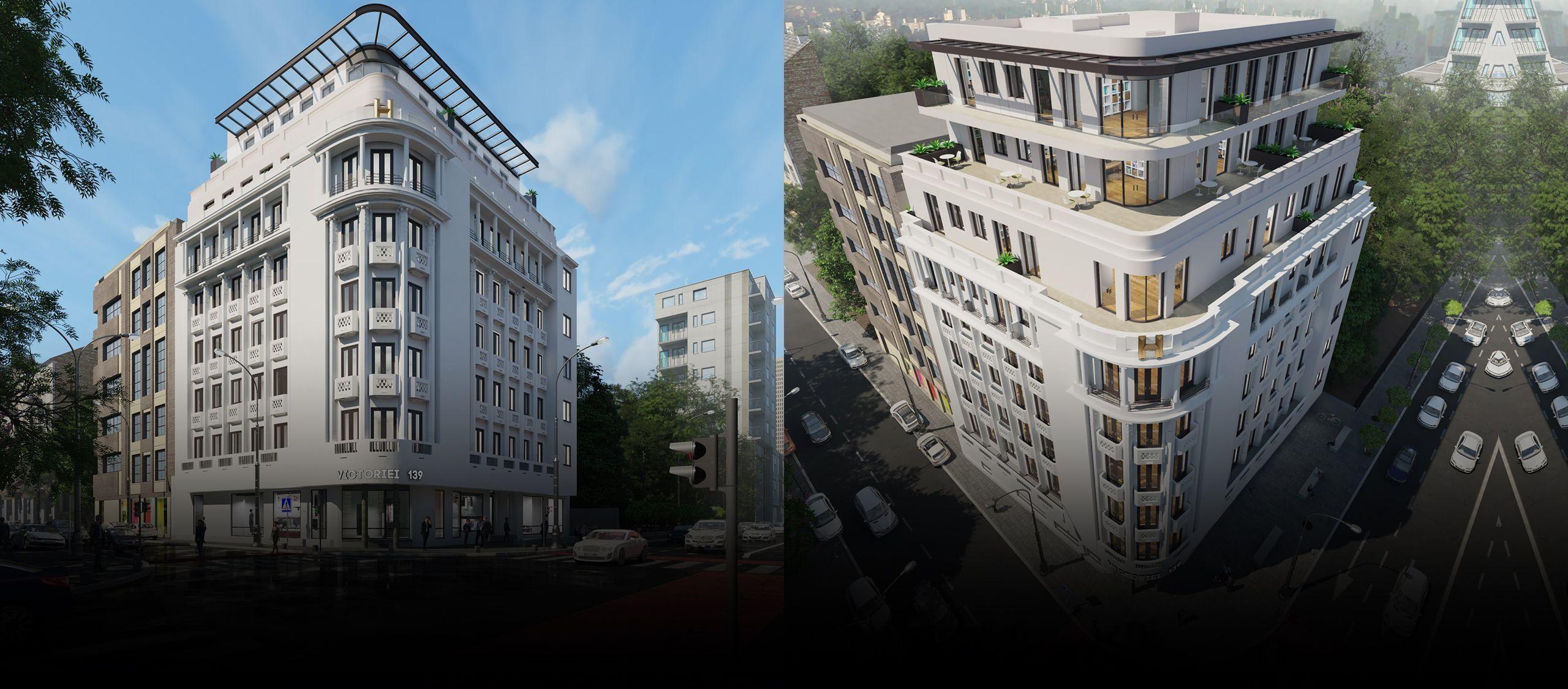 HAGAG Development Europe a obținut autorizația de construcție pentru H Victoriei 139